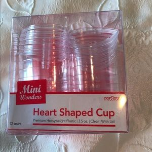 Heart shaped cup-12count